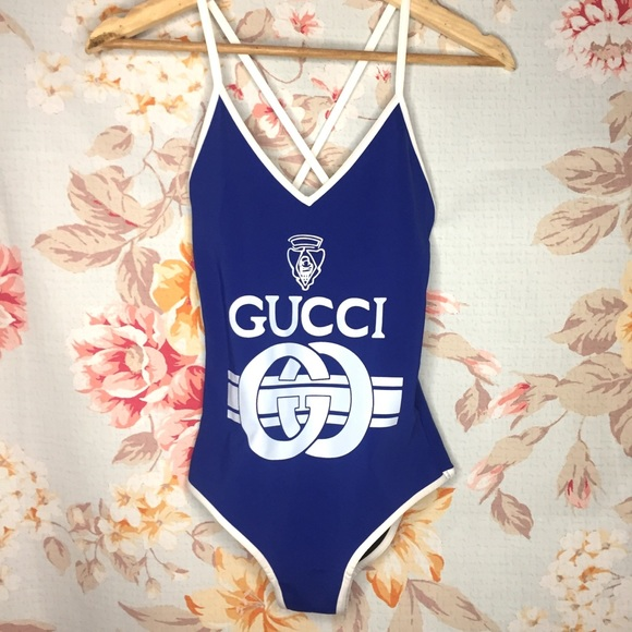 8982b4a199c6e Gucci Other - Gucci retro one piece swimsuit- like new!